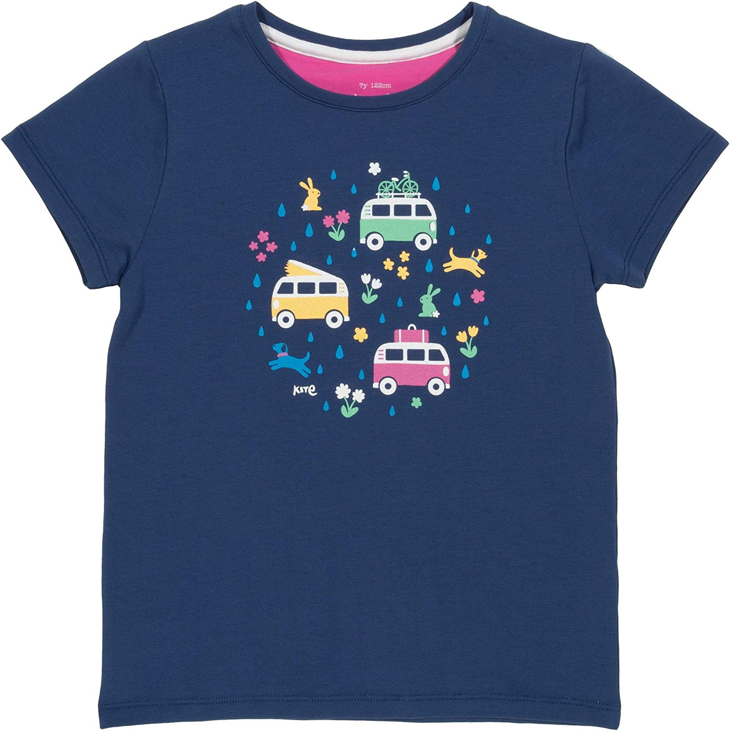 Kite Girls Happy Campers T-Shirt Organic 3-11 Years
