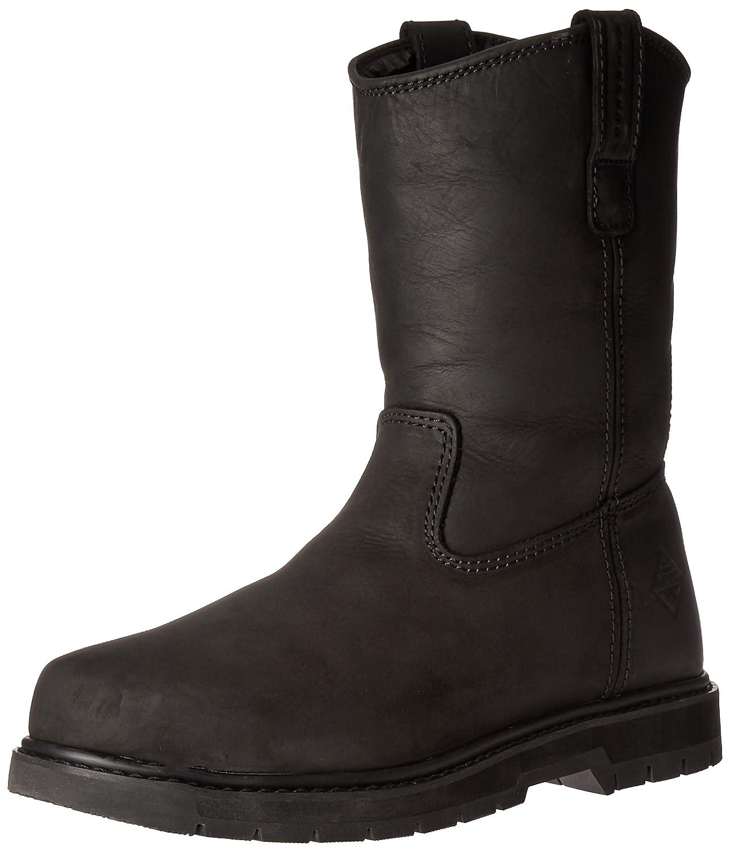 Muck Boot メンズ B00WY5KPFO 14 D(M) US|Black/Leather Black/Leather 14 D(M) US