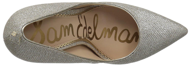 Sam Edelman Women's Danna Pump B07BRD3KDS 5.5 B(M) US|Jute Glam Mesh