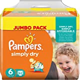 Pampers Simply Dry 4015400687092 6 62pieza(s) - Pañal (Universal, Disposable diaper)