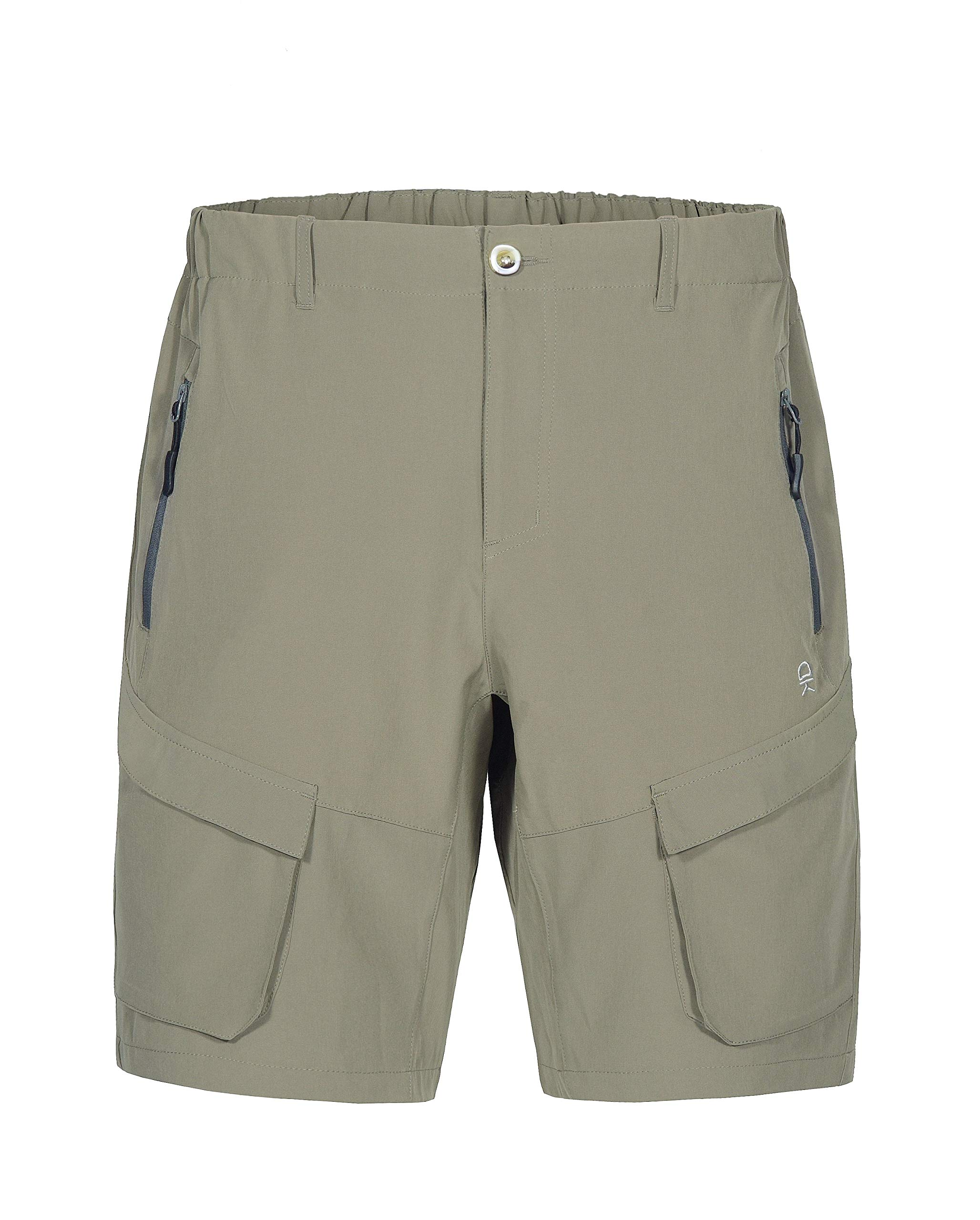 Little Donkey Andy Men's Stretch Quick Dry Cargo Shorts for Hiking, Camping, Travel Sage Size M by Little Donkey Andy
