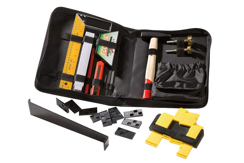 Juego de herramientas para la instalació n de suelo laminado (63 piezas) MK