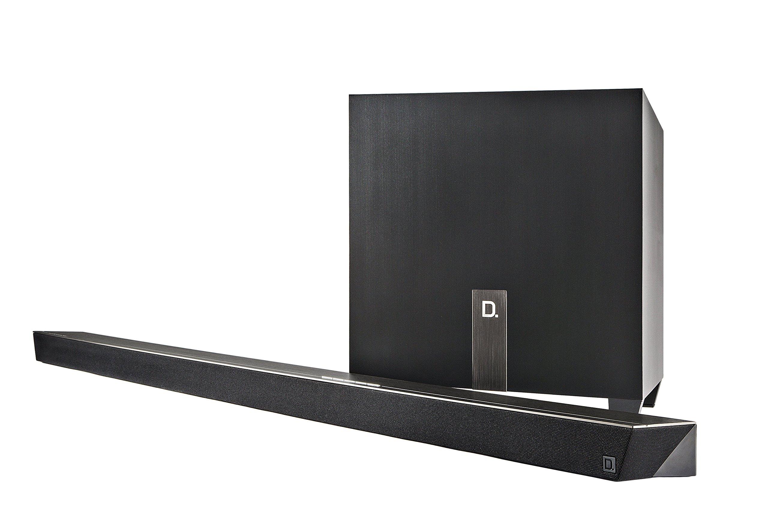 Definitive Technology W Studio Micro Ultra-Slim 3.1 Wireless Sound Bar & Wi-Fi Music Streaming System by Definitive Technology