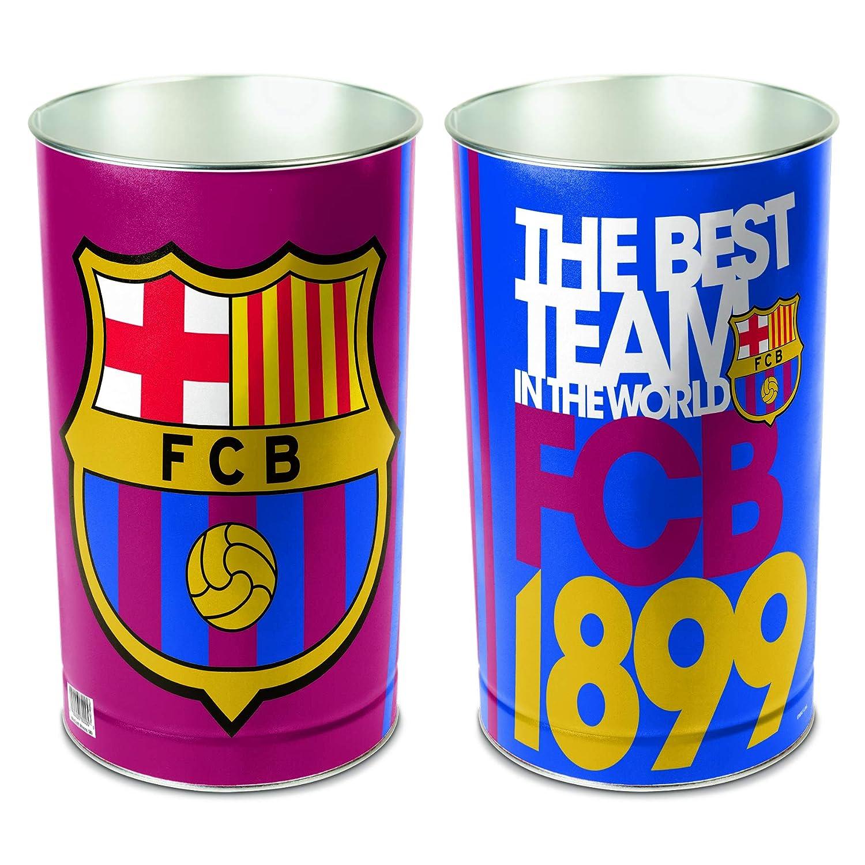 Soccer Tapered Waste Basket B002SK3KHA  FC Barcelona
