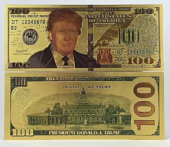 Donald J Trump $1 Billion Silver Commemorative Collectable Bank Note