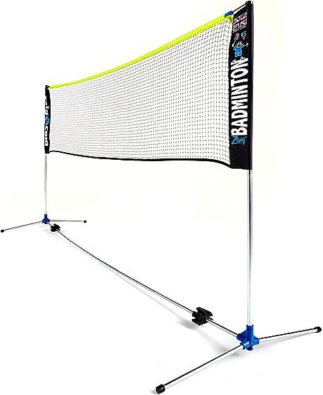 Amazon Com Zsig Mini Badminton Net 3m Portable Net Coaching Quality Sports Outdoors