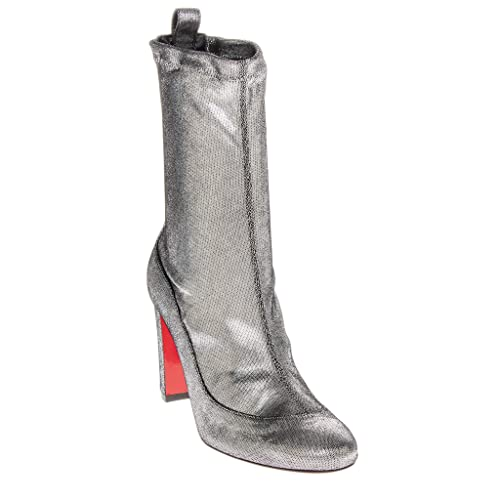 sports shoes 7ab64 50c7f Amazon.com | Christian Louboutin Gena 85 Metallic Leather ...