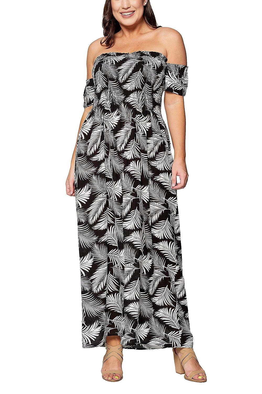 Amazon.com: Wild Jasmine Women\'s Junior Plus Size Tropical ...
