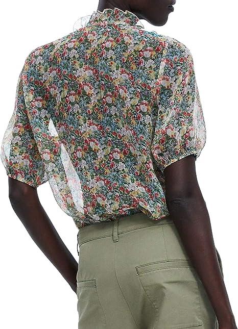 Zara 4786/240 - Camiseta de Manga Corta para Mujer con ...