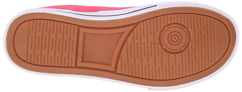 Toddler//Little Kid//Big Kid Polo Ralph Lauren Kids Vaughn II Fuchsia Canvas N Fashion Sneaker K VAUGHN II FUCHSIA CANVAS- NAVY