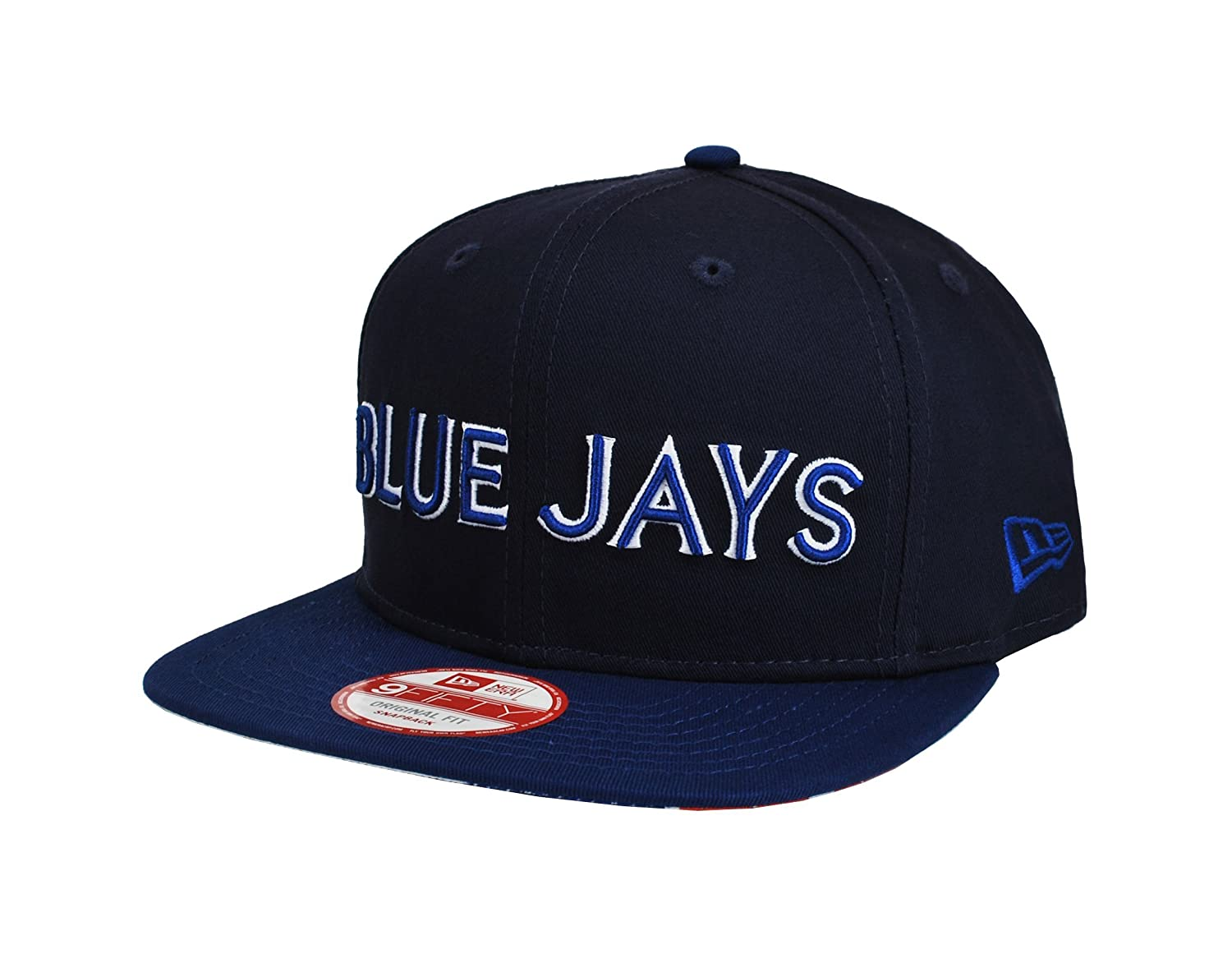 New Era Men's 9Fifty MLB Cap Toronto Blue Jays Navy Blue Snapback Cap