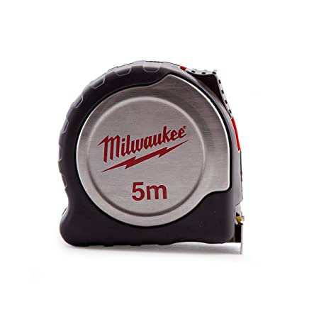 Milwaukee 4932451639 Silver Tape Measure C5 25 Red Black Amazon Co