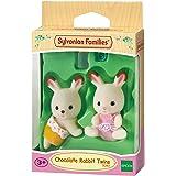 Sylvanian Families Chocolate Rabbit Twin Babies,Figure