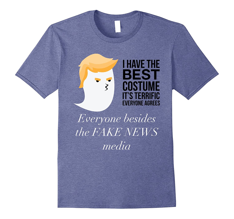 Political Funny Halloween Costume Trump T- Shirt-FL