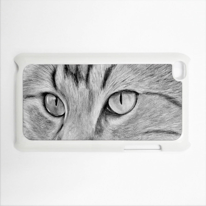 Amazon com cat eyes apple ipod touch 4g white hard case original