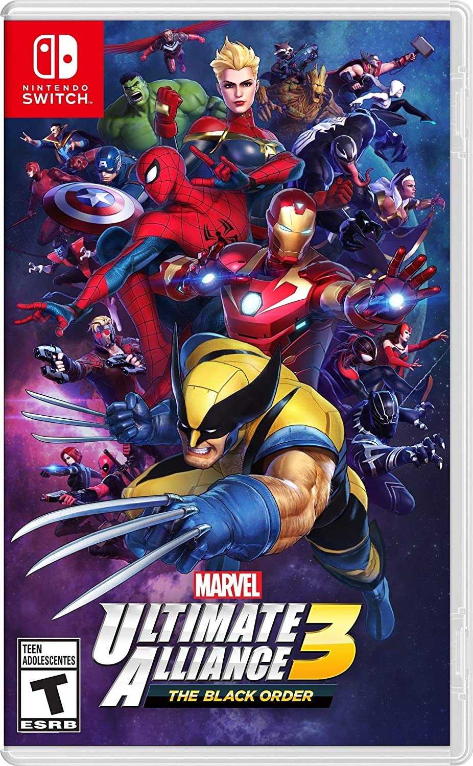 Marvel Ultimate Alliance 3: The Black Order for Nintendo Switch USA: Amazon.es: Nintendo of America: Cine y Series TV