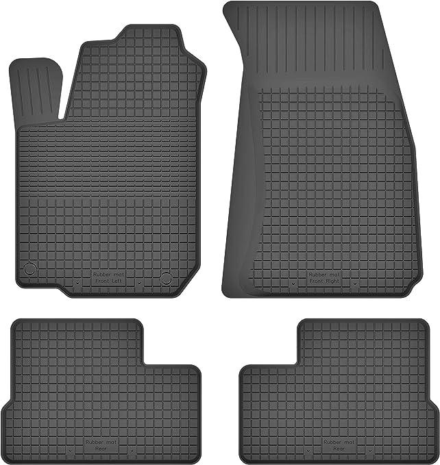 Ko Rubbermat Gummimatten Fußmatten 1 5 Cm Rand Geeignet Zur Toyota Corolla Xi Bj 2013 2019 Ideal Angepasst 4 Teile Ein Set Auto