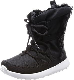 74e343d297 Amazon.com | Nike Girls Roshe One Hi Big Kid Casual Ankle Boots ...