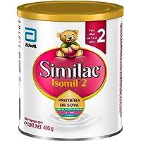 Isomil   Etapa 2, Fórmula Infantil a Base de Proteína de Soya para Niños de 1 a 3 Años   400g