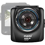 maisi M85 Full 1296p HD In Car Dash Cam Camera DVR Digital Driving Video Recorder with Smart Collision Detection