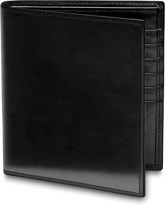 CREDIT CARD HOLDER MENS LUXURY SOFT QUALITY LEATHER WALLET PURSE BLACK 101A