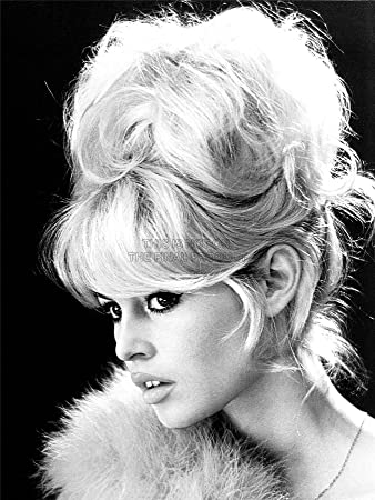 Vintage photography brigitte bardot actress black white movie star 18x24 poster art print lv11305
