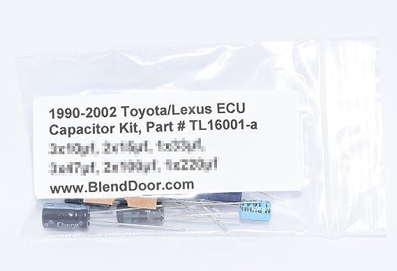 1990-2002 Toyota/Lexus ECU/ECM/Computer Capacitor Kit