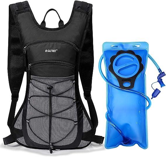 SKL Sac /à dos dhydratation sac /à dos avec sac dhydratation de 2 L vessie /à eau