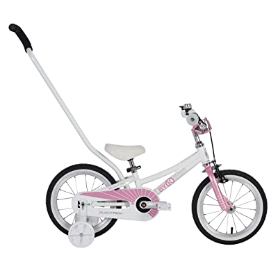ByK Bikes E250 Kids Bike (Pretty Pink) : Sports & Outdoors