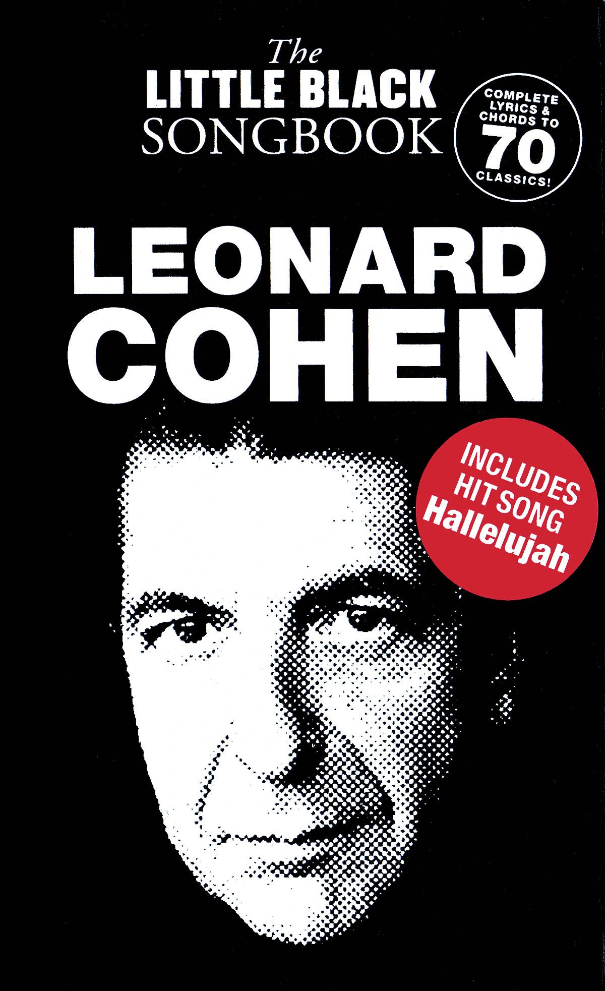 Amazon Leonard Cohen The Little Black Songbook Chords