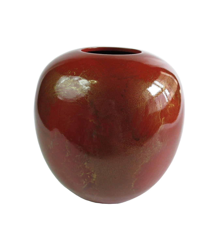 竹中銅器 銅製花瓶 晃琳 レッド 110-59 B015JB76LU レッド