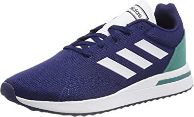Adidas Run70S, Zapatillas de Running para Hombre, Azul (Dark Blue/FTWR White/Active Green Dark Blue/FTWR White/Active Green), 42 EU: Amazon.es: Zapatos y complementos