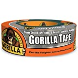 "Gorilla Silver Duct Tape, 1.88"" x 35 yd, Silver, (Pack of 1)"