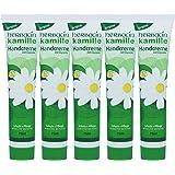 Herbacin wuta kamille 82141Hand Cream with Glycerine Tube 75ml (Pack of 5(5x 75ml)