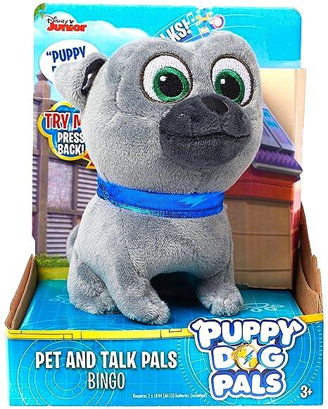 Amazon Com Disney Junior Puppy Dog Pals Pet Talk Bingo 4 Toys