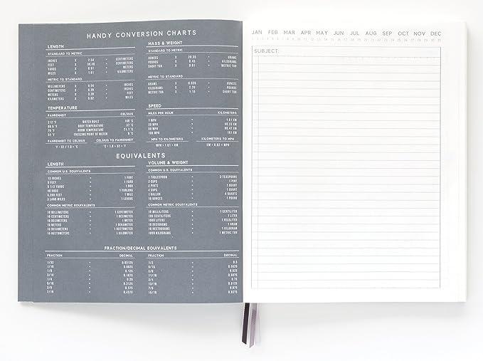 Amazon.com : DesignWorks Ink Standard Issue Bound Personal Journal ...