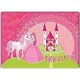 Prinzessin Einladungskarten Kindergeburtstag 12 Stück Im Günstigen Set  Kinder Geburtstag Mädchen Fee Pferd Poney Einhorn