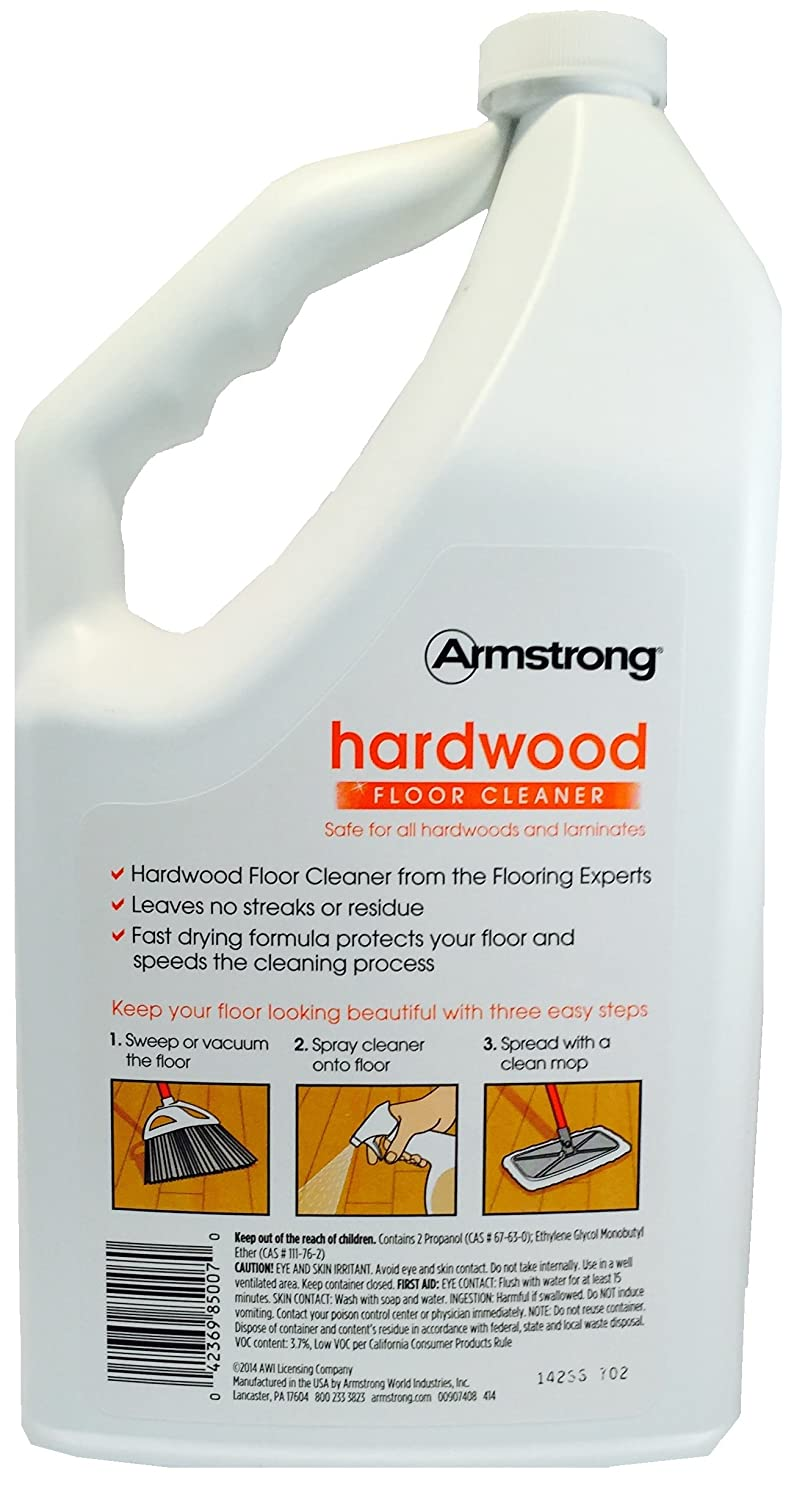Com Armstrong Hardwood And Laminate Floor Cleaner Ready To Use Refill Citrus Fusion 64oz 64 Oz Health Personal Care