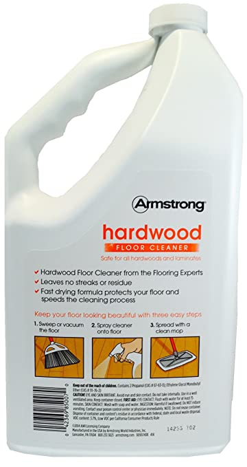 Exceptional Amazon.com: Armstrong Hardwood And Laminate Floor Cleaner Ready To Use  Refill Citrus Fusion 64oz: Health U0026 Personal Care