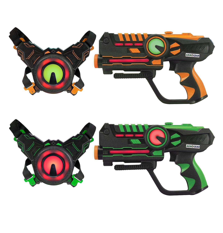Unbekannt D 'Arpeje–Spielzeug Verbunden–Laser Battle, odar78, Rot/Blau D' ARPEJE