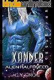 Xander Alien Halfbreed: A SciFi Romance (Human Female Abduction Book 1)
