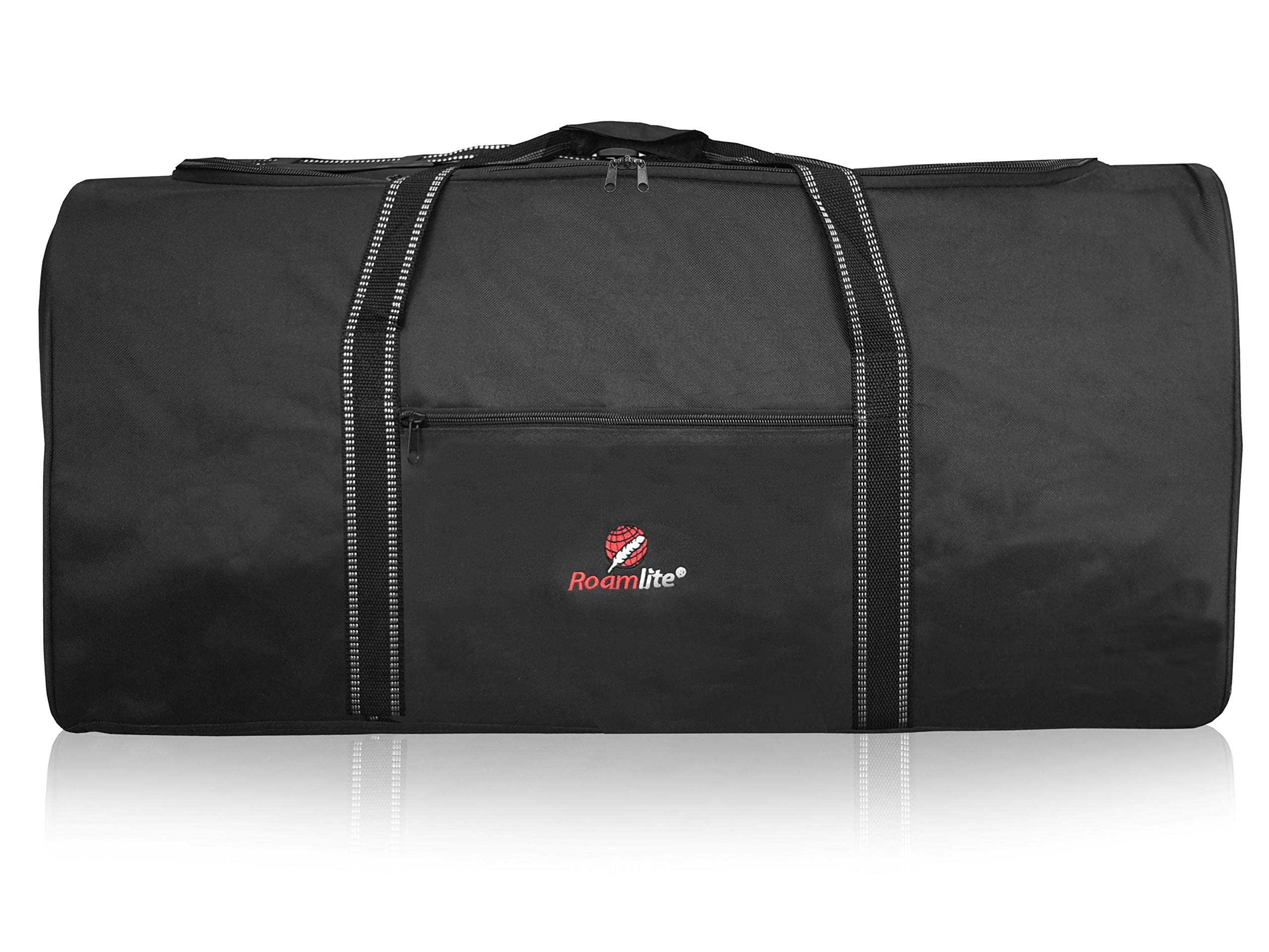 Roamlite Extra Large Travel Holdall - XL Duffle Bag in Strong Polyester - 76 cm x34cm x37cm - 100 Litre - RL30 Black