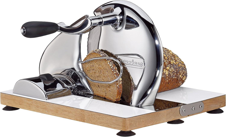 Zassenhaus KP0000072068 Classic Brotschneidemaschine 18//8 Edelstahl