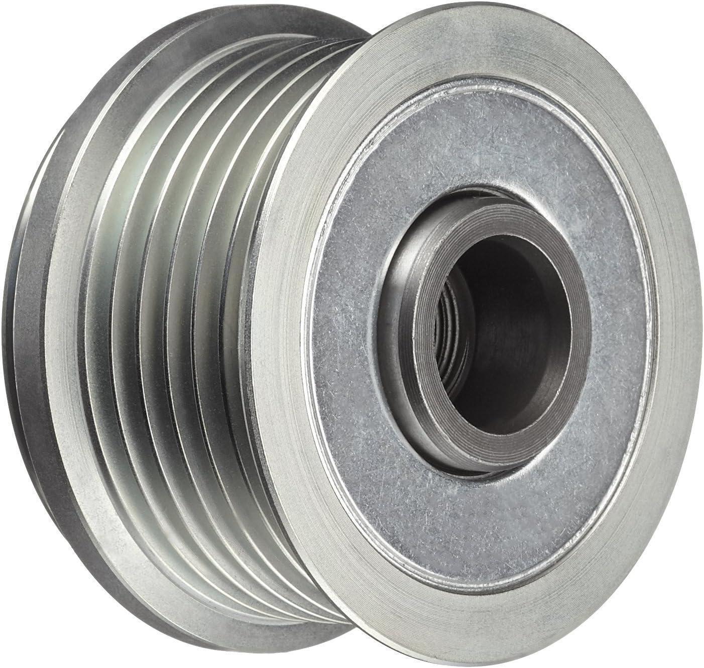 Anzahl der Rillen: 6 Gewindema/ß: M16x1,5 HELLA 9XU 358 038-351 Generatorfreilauf Riemenscheiben-/Ø: 54,3mm