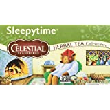 Celestial Seasonings Herbal Tea, Sleepytime, 20 Count (Pack of 6)