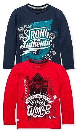 5bea6d54 Amazon.com: OFFCORSS Toddler Boy Stylish Long Sleeve Tshirt for Boys  Franelas para Niños: Clothing