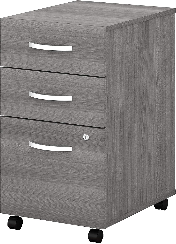 Bush Business Furniture Studio C File Cabinet, Platinum Gray