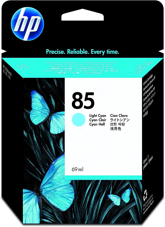 HP 85 Light Cyan Ink Cartridge (c9428a) for HP Designjet 30, 130