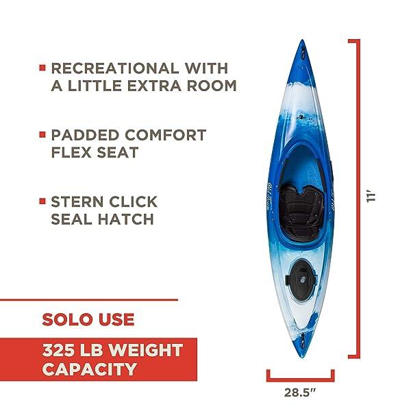 Old Town Canoes & Kayaks Heron 11XT Recreational Kayak Review