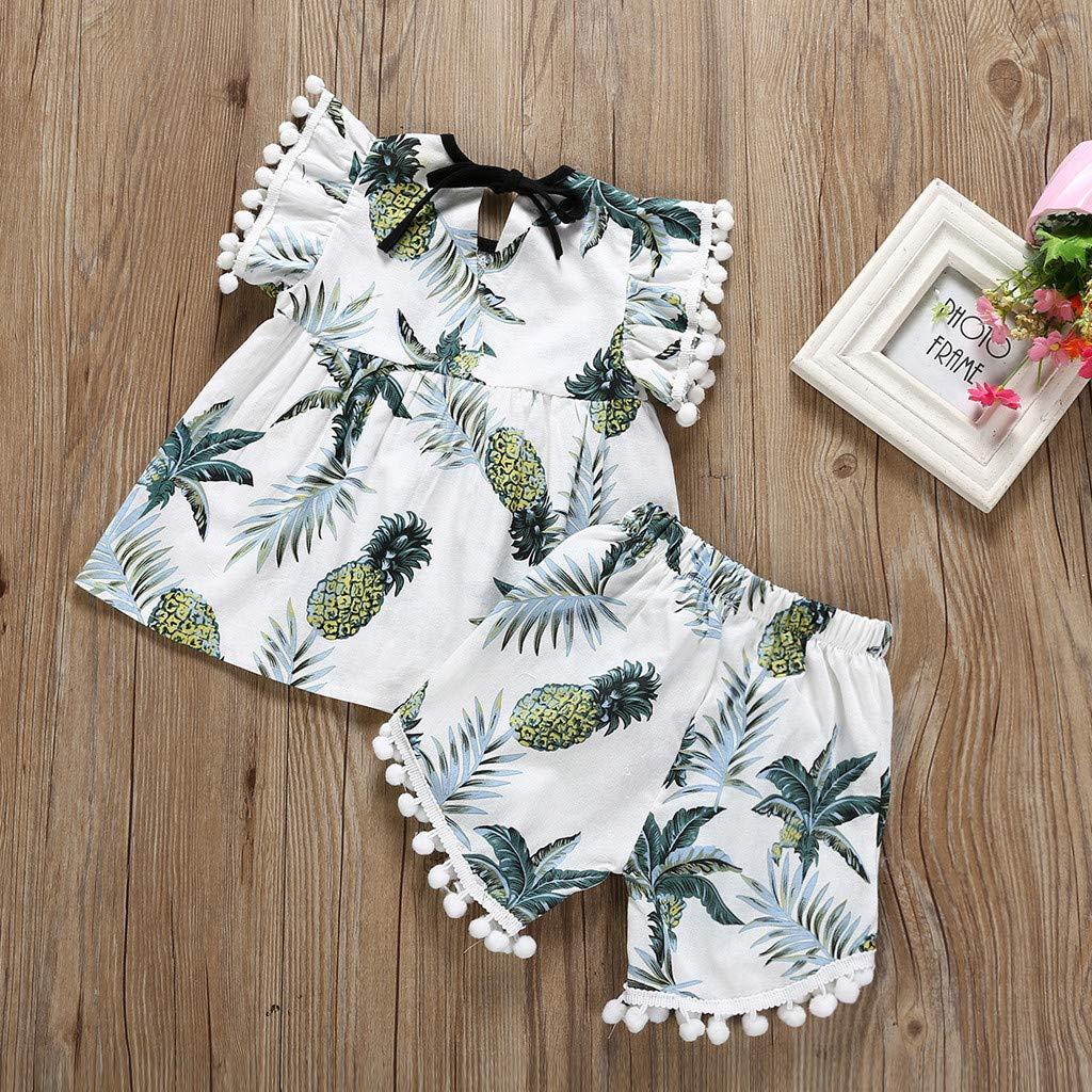 Mr.Macy Baby Girl Outfits Clothes Floral Letter Romper Bodysuit Tutu Dress Sets